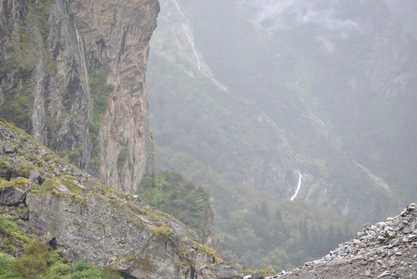 In the Himalayas